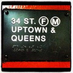 Photo taken at MTA Subway - 34th St/Penn Station (A/C/E) by OElena N. on 6/19/2012