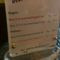 Photo taken at House of Bagel & Pretzel by rani f. on 5/27/2012