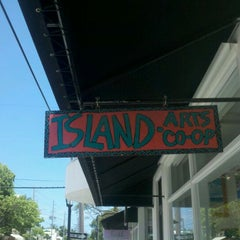 Photo taken at Island Art by Joanna D. on 5/20/2012