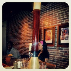 Photo taken at Brick House Tavern + Tap by Stephanie I. on 4/28/2012