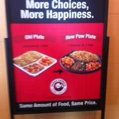 Photo taken at Panda Express Gourmet Chinese Food by Jane M. on 5/6/2012