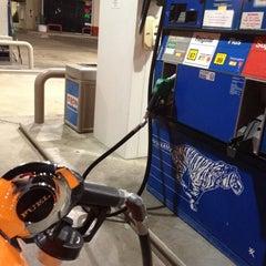 Photo taken at Exxon by Justin D. on 5/24/2012