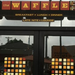 Photo taken at The Waffle by Bridget J. on 3/31/2012