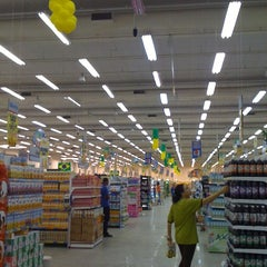 Photo taken at Supermercados Guanabara by arthur p. on 7/27/2012