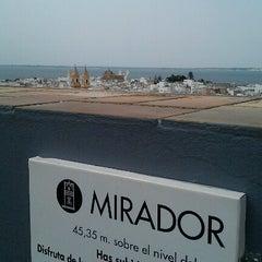 Photo taken at Torre Tavira - Cámara Oscura by SMR on 6/25/2012