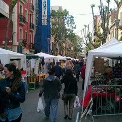 Photo taken at Fiesta de la Mercé by @PetteLov w. on 5/5/2012