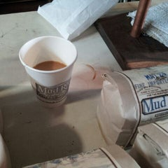 Photo taken at Mud River Coffee Roasting by Nick W. on 6/2/2012