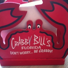 Photo taken at Crabby Bill's Clearwater Beach by Morgan A. on 3/11/2012