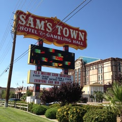 Photo taken at Sam's Town Hotel & Gambling Hall by Lee W. on 6/1/2012
