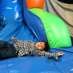 Photo taken at Leapin' Lizards Fun & Party Center by Kelly W. on 2/25/2012