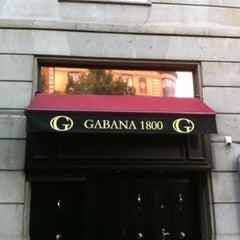 Photo taken at Gabana 1800 by Tim R. on 7/18/2012