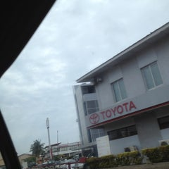 Photo taken at Toyota Ghana Ltd. by jeremiah s. on 6/28/2012