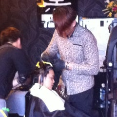 Photo taken at Black Hair Studio by Jasson T. on 2/25/2012