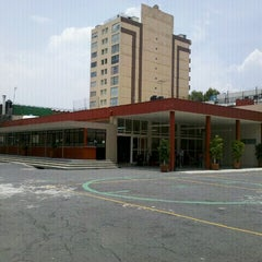 Photo taken at Centro Universitario Incarnate Word by Pau V. on 8/2/2012