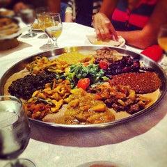 Photo taken at Demera Ethiopian Restaurant by Robin H. on 8/17/2012