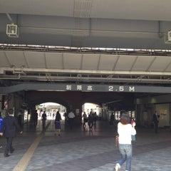 Photo taken at 有楽町駅 (Yūrakuchō Sta.) by Shinichi O. on 4/24/2012