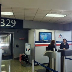 Photo taken at Gate B29 by Jonathan D. on 4/5/2012
