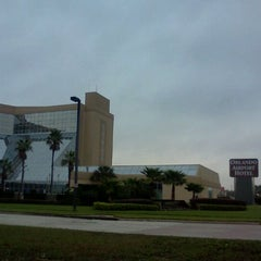 Photo taken at Crowne Plaza Hotel Orlando Airport by Ocala W. on 2/23/2012