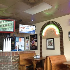 Photo taken at Little Italy Pizzeria by Whitney D. on 4/21/2012