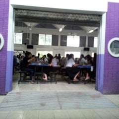 Photo taken at โรงอาหาร อาคารองค์การนักศึกษา (อมช.) by Lek W. on 8/9/2012