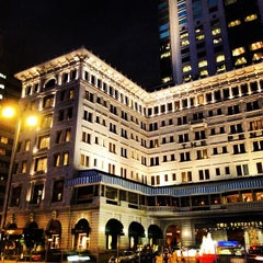 Photo taken at The Peninsula Hong Kong 香港半島酒店 by Arnold A. on 5/5/2012