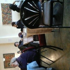 Photo taken at Teahouse Kuan Yin by Andrew C. on 3/4/2012