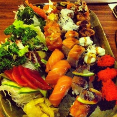 Photo taken at Koban Sushi by Bruno M. on 6/12/2012