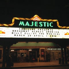 Photo taken at The Majestic Theatre by Caitma T. on 3/30/2012
