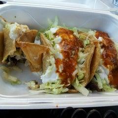 Photo taken at Fabys Tacos by Makiya N. on 6/15/2012