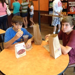 Photo taken at Dunkin' Donuts by Jenni B. on 8/18/2012