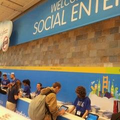 Photo taken at Cloudforce Social Enterprise Tour - San Francisco 2012 by Jaro Š. on 3/15/2012