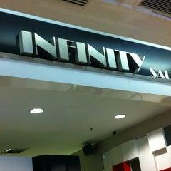 Photo taken at Infinity Hair Salon by ko e. on 4/5/2012