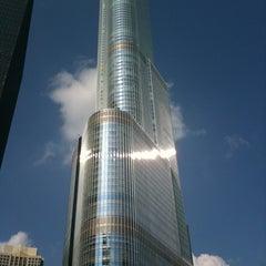 Photo taken at Trump International Hotel & Tower Chicago by Frankie N. on 3/15/2012