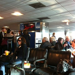 Photo taken at Concourse C by Benny D. on 4/6/2012