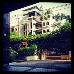 Photo taken at Bandara Suites Silom by Sasha M. on 5/21/2012