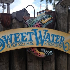 Photo taken at SweetWater Brewing Company by david m. on 7/21/2012