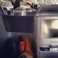 Photo taken at Lufthansa Flight LH 418 by That John on 7/4/2012