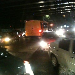 Photo taken at Calzada Ignacio Zaragoza by Melissa A. on 3/10/2012