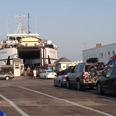 Photo taken at Steamship Authority - Woods Hole Terminal by Cricky C. on 7/1/2012
