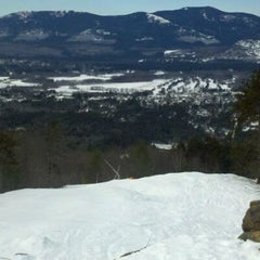 Photo taken at Cranmore Mountain Resort by Ed R. on 2/3/2012