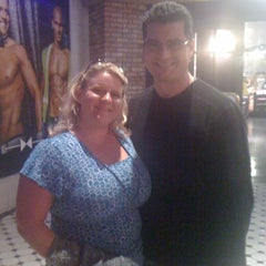 Photo taken at Chippendales Theatre at The Rio Vegas by Paige G. on 4/11/2012