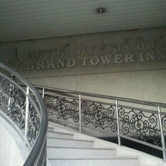 Photo taken at Grand Tower Inn Sathorn by mike b. on 7/15/2012