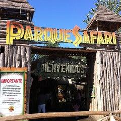 Photo taken at Parque Safari by Yerko G. on 2/17/2012