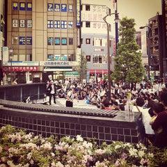 Photo taken at 高円寺駅 (Kōenji Sta.) by rentaro f. on 4/28/2012