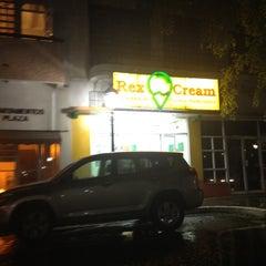 Photo taken at Rex Cream by Jillian V. on 3/14/2012