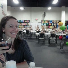 Photo taken at The Wine Loft by mcanalle N. on 4/4/2012