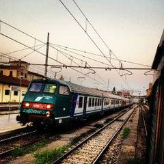 Photo taken at Stazione Lucca by Mauro C. on 9/8/2012