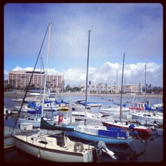 Photo taken at Whitehall Spirit Rowing Club Marina Del Rey by Adam R. on 4/13/2012