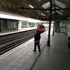 Photo taken at Boston Manor London Underground Station by Jon B. on 4/15/2012