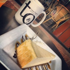 Photo taken at Trees Organic Coffee by Leah C. on 5/19/2012